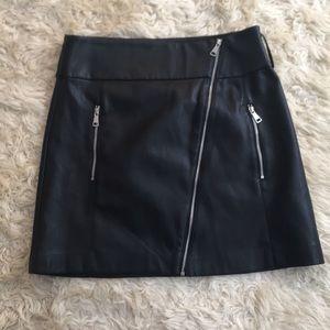 Zara Trafaluc collection leather look mini small
